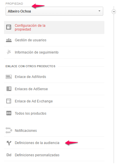 listas remarketing google analytics