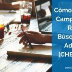 Cómo Crear una Campaña en la Red de Búsqueda de Google AdWords [Checklist]