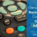 Cómo Hacer un Backup de una Cuenta con el Editor de AdWords
