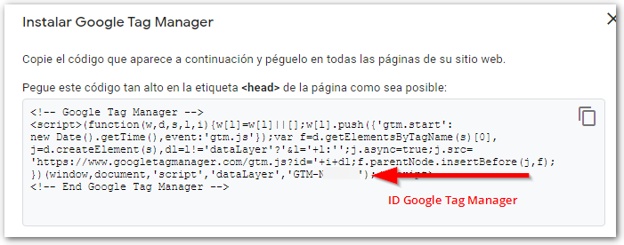 id google tag manager 2 - Wasabiden