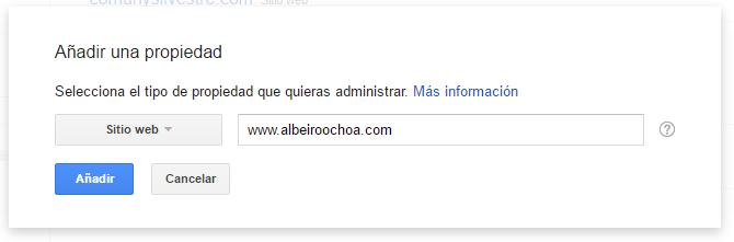 enlazar-google search console analytics