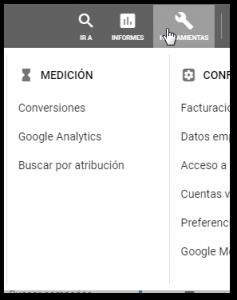 Google tracking conversiones
