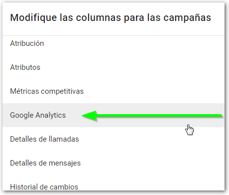 google analytics google ads
