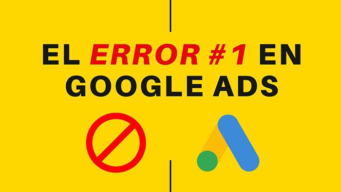 error google ads