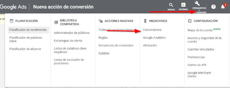 conversiones google ads