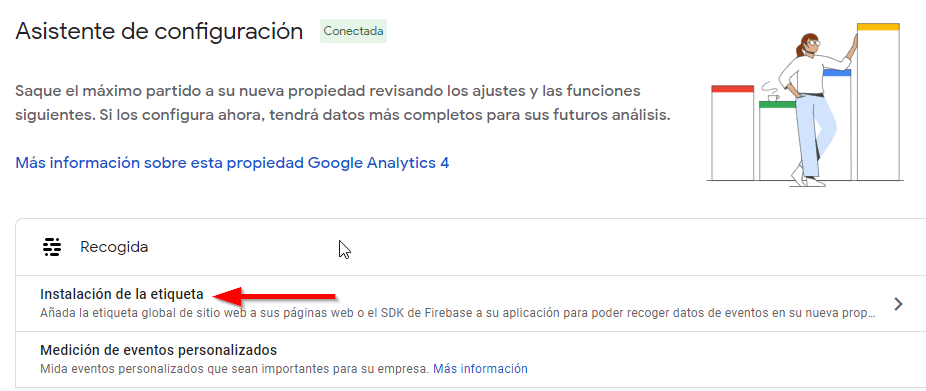 instalacion google analytics 4