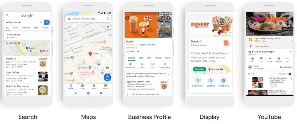 google ads locales
